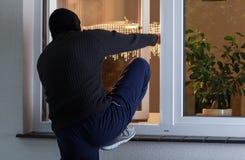 Ограбление в дом Стоковое Изображение