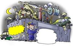 Ограбление на junkyard Стоковая Фотография RF