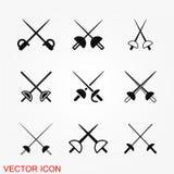 Ограждать вектор значка иллюстрация вектора