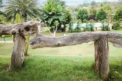 ограждает деревянное Стоковая Фотография