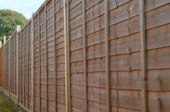 оградите панели деревянные Стоковые Фото
