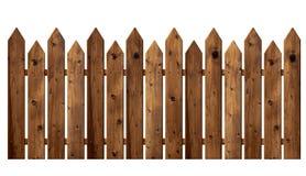 оградите солнцецветы лета лужка деревянные стоковое фото rf