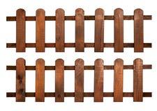 оградите деревянное Стоковая Фотография RF
