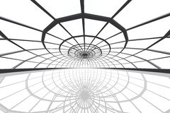 Огромная катаясь на коньках арена 3D представляет Стоковое Изображение