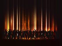 огромная партия Стоковая Фотография RF