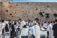Огромная толпа верных евреев Стоковые Изображения RF