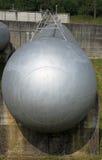 Огромная цистерна хранение газа Стоковая Фотография RF