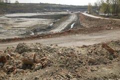 огромная шахта opencast Стоковое Изображение
