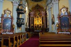 Огромные исторические церков Австрии стоковое фото rf