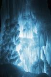 Огромные сосульки льда Стоковые Фотографии RF