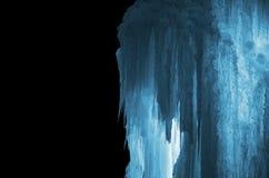 Огромные сосульки льда Стоковая Фотография RF