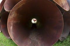 огромные трубы Стоковые Изображения