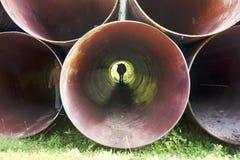 огромные трубы Стоковое фото RF