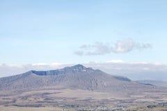 Огромный кратер держателя Longonot Стоковые Фотографии RF