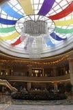 Огромный круг крыша pervious к свету стоковое изображение rf
