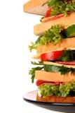 огромный сандвич Стоковые Изображения