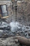 огромный jackhammer стоковое фото rf