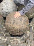 3 огромных шарика канона Стоковое Изображение