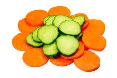 огурец моркови Стоковая Фотография RF