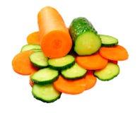 огурец моркови Стоковые Фотографии RF