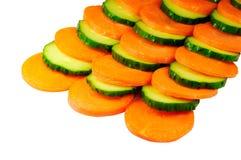 огурец моркови Стоковое Фото