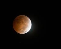 Оглушать октябрь восьмое 2014 лунных затмений Bloodmoon Стоковые Фотографии RF