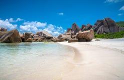 оглушать пляжа тропический Стоковые Изображения RF