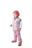 одевает девушку меньшяя зима Стоковые Фотографии RF