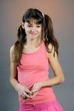 одевает спорт девушки милый Стоковая Фотография RF