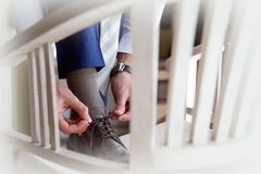 Одевать в официально фото образа жизни одежды Стоковые Изображения RF