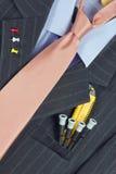 одевая интеллектуальный оригинал человека Стоковое Изображение RF