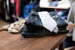 одевая нутряной магазин Стоковое Фото