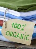 одевая стог ярлыка органический стоковые фото