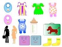 одежда детей иллюстрация штока