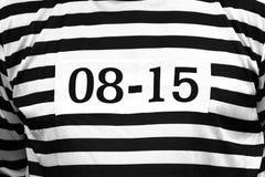 Одежда пленника с 0815 стоковая фотография rf