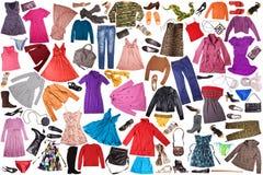 одежда предпосылки Стоковое Изображение