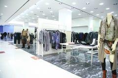 одежды бутика Стоковая Фотография