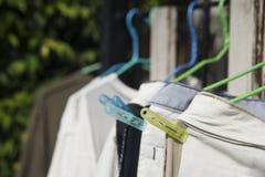 Одежды вида под солнцем Стоковая Фотография RF