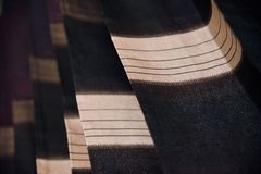 одежды занавеса с текстурами стоковое изображение rf