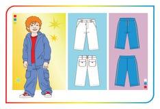 одежды ребёнков Стоковые Изображения