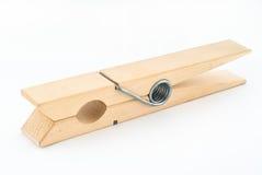 оденьте закрутку деревянную Стоковая Фотография RF