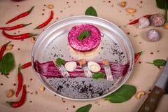 Одетый салат сельдей Стоковые Фотографии RF