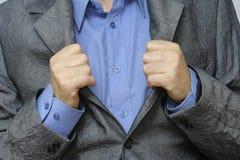 Одетый человек стоковая фотография