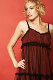 одетьйте красное yvette Стоковые Фото