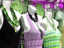 одетьнный магазин манекенов Стоковые Фото