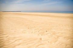 Одинокий пляж Балтийского моря Стоковые Фото