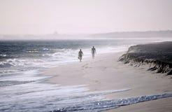 2 одиноких люд Стоковая Фотография
