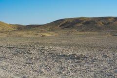 Одиночество и пустота пустыни стоковое изображение