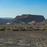 Одиночество и пустота пустыни стоковая фотография rf