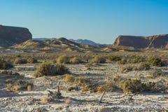Одиночество и пустота пустыни стоковые изображения rf